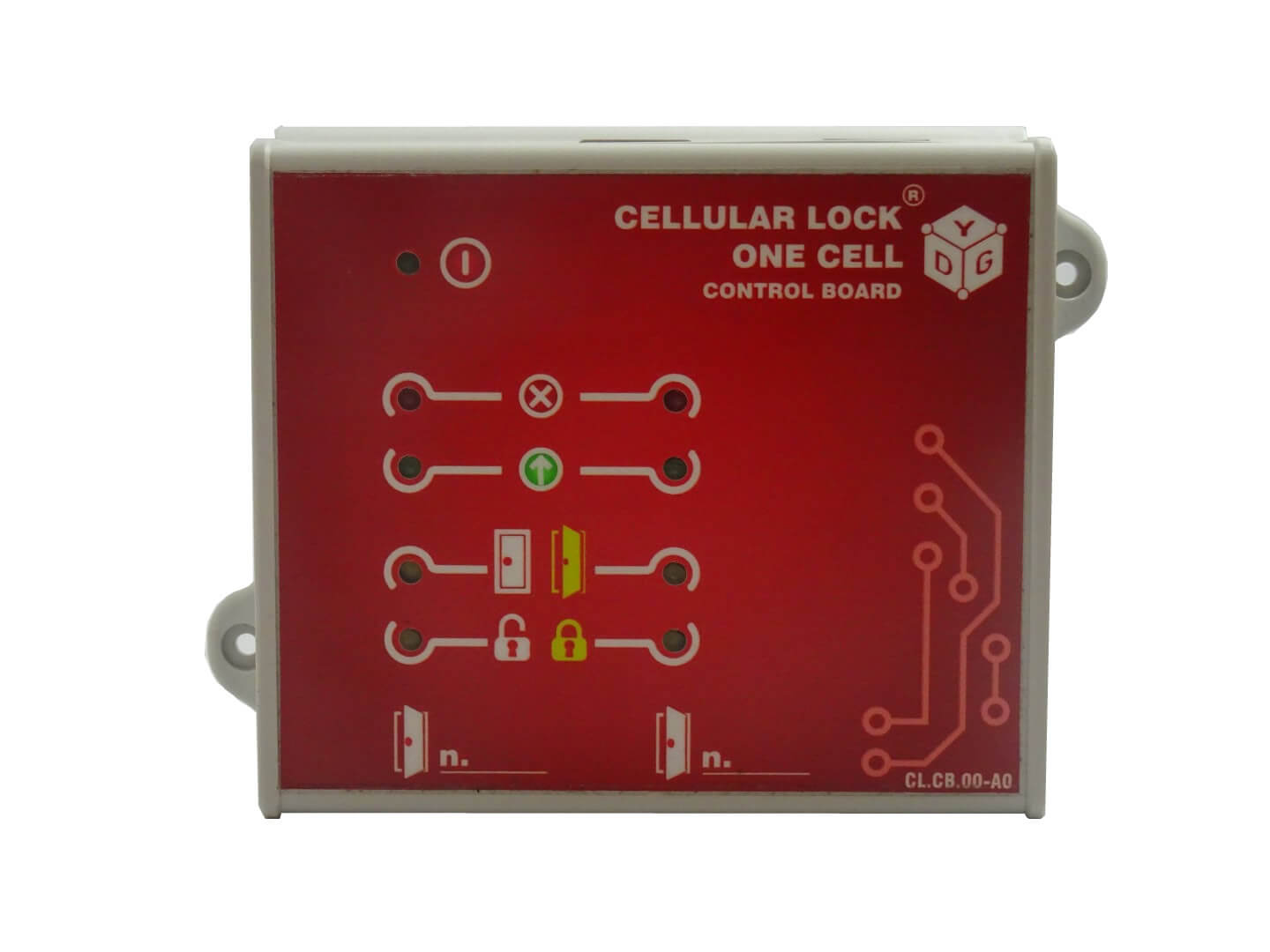 CL.CB.00 CELLULAR LOCK® – ONE CELL.