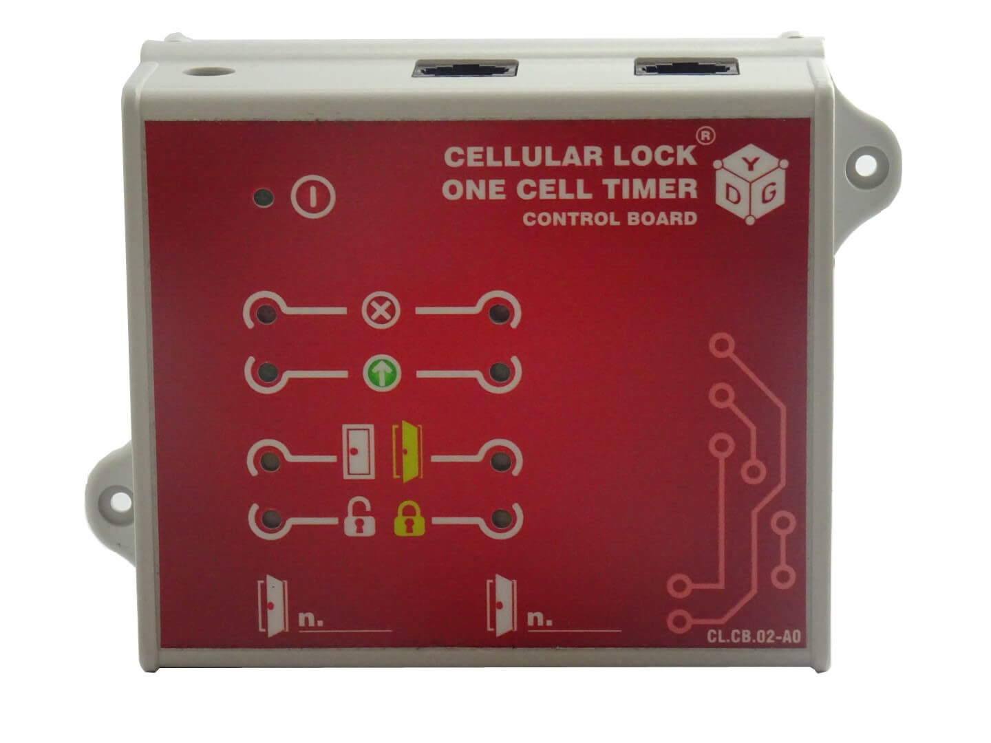 CL.CB.02 CELLULAR LOCK® – ONE CELL TIMER.